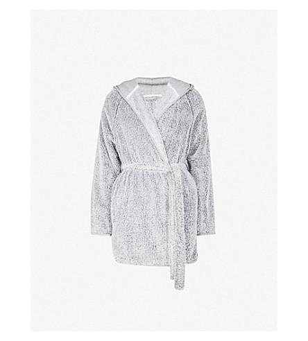 SKIN Farren terry robe (Grey
