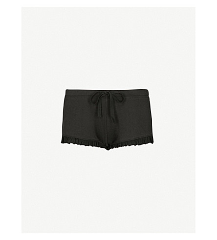 SKIN 365 cotton-jersey shorts (Black