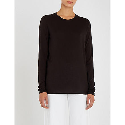SKIN 365 long-sleeved top (Black