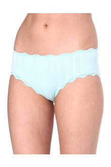 SKIN Lace city boy shorts