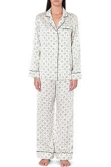 OLIVIA VON HALLE Lila Amalia pyjamas
