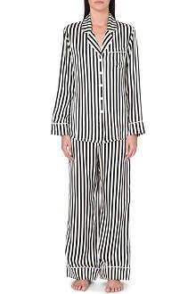 OLIVIA VON HALLE Lila Nika silk pyjamas