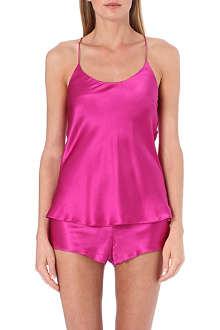 OLIVIA VON HALLE Bella silk camisole set