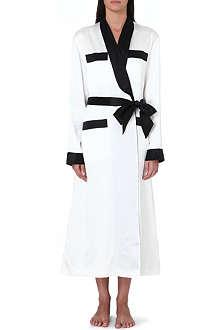 OLIVIA VON HALLE Lena silk robe