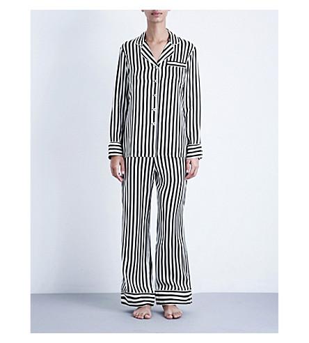 OLIVIA VON HALLE Lila Nika silk pyjama set (Nika+core