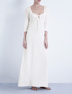 BODAS Long jersey nightdress