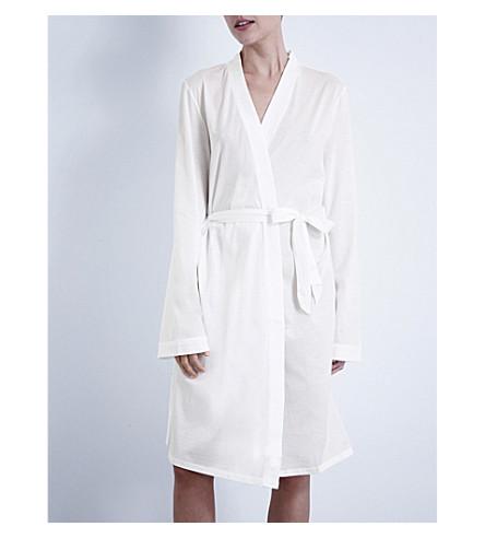 ... BODAS Short jersey robe (White. PreviousNext 70ab036b3