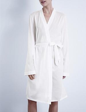 BODAS Jersey kimono robe