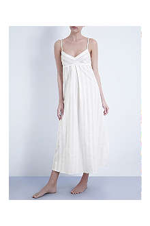 BODAS Long cotton nightdress