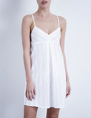 BODAS Short cotton nightdress