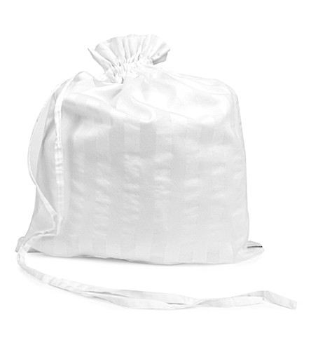 BODAS Cotton nightwear bag (White