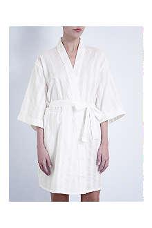 BODAS Short kimono robe