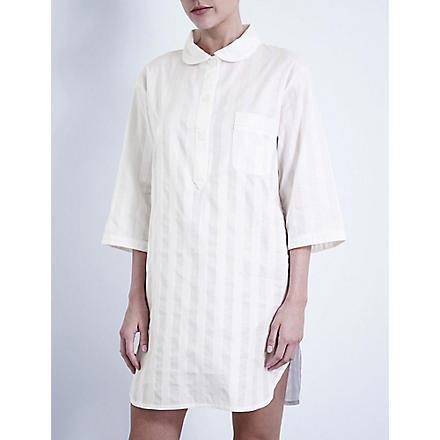 BODAS Cotton nightshirt (White