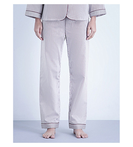 BODAS Verbier cotton pyjama bottoms (Baie
