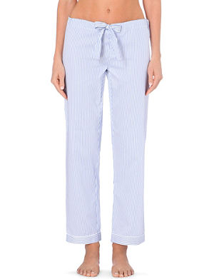 BODAS Verbier cotton pyjama bottoms