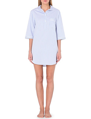BODAS Verbier cotton nightshirt