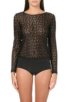 MORGAN LANE Frankie lace bodysuit