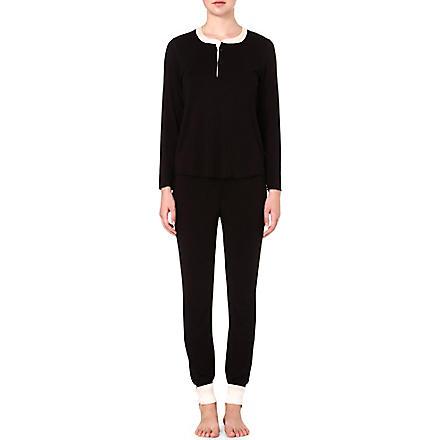 MORGAN LANE Maggie Hart Cara pyjamas (Noir/vanilla