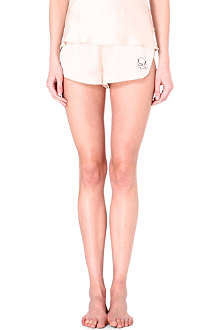 MORGAN LANE Lanie silk shorts