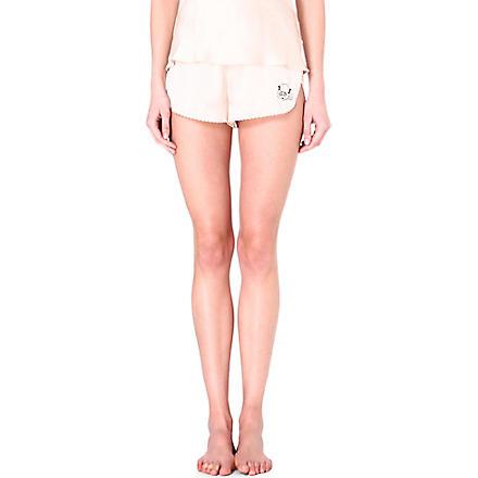 MORGAN LANE Lanie silk shorts (Vanilla