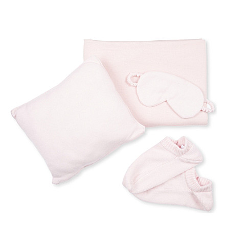 ALLUDE Luxury Cashmere Travel Set (0060 light pink