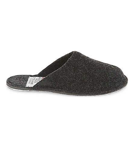 PUEBCO Small wool slippers (Dark grey