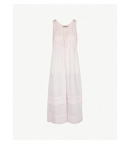 THREE GRACES LONDON Lidera 棉质巴厘纱睡衣 (樱草 + 棉花
