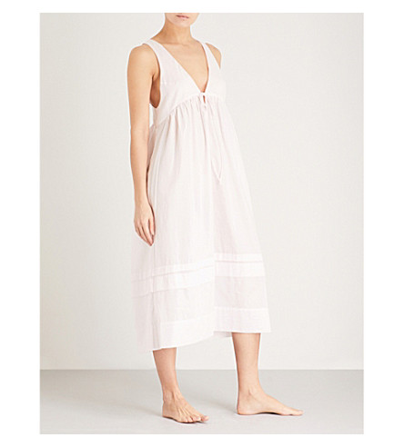THREE GRACES LONDON Lidera cotton-voile nightdress (Primrose+cotton