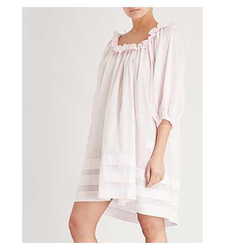 THREE GRACES LONDON Esther cotton-voile nightdress (Primrose+cotton
