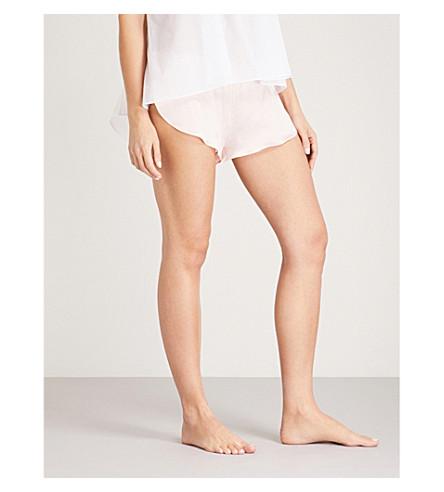 THREE GRACES LONDON Ariel cotton shorts (Primrose+cotton