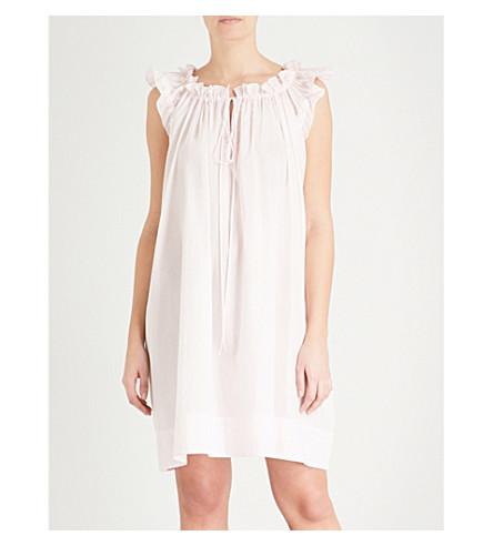 THREE GRACES LONDON Leonore cotton-voile nightdress (Primrose+cotton+voile