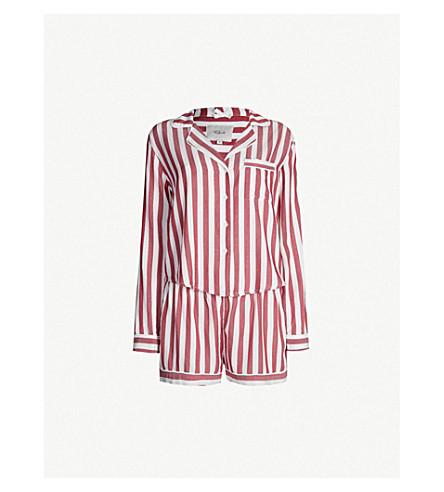 RAILS Striped cotton-blend pyjama set (Toledo stripe