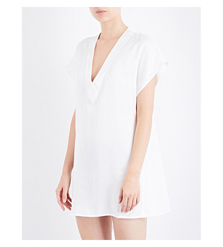 MORPHO AND LUNA Annie silk nightdress (Snow