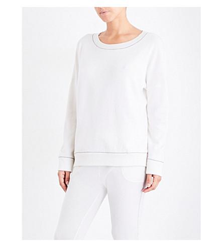 MORPHO AND LUNA Mimosa cashmere pyjama top (Snow