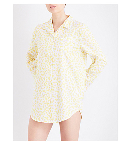 CHALMERS Evey cotton high shirt (Yellow