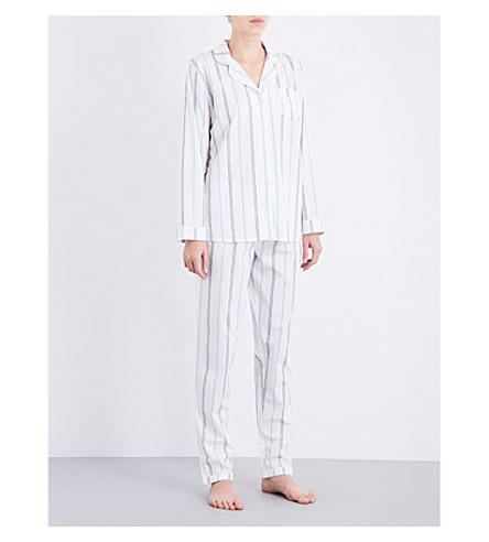 CHALMERS Frida cotton pyjama set (Base+stripe+pink+multi