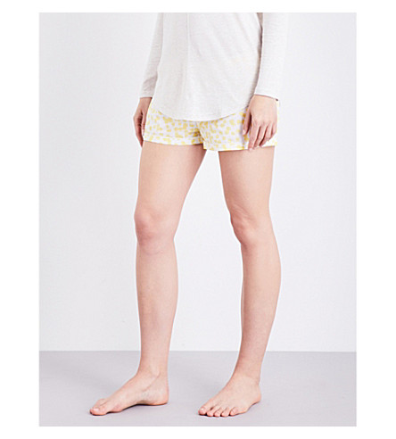 CHALMERS Addy cotton shorts (Yellow