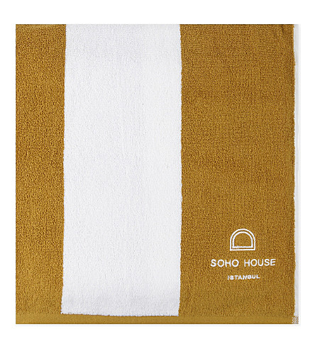 SOHO HOME Istanbul House cotton pool towel 180x99cm (Istanbul