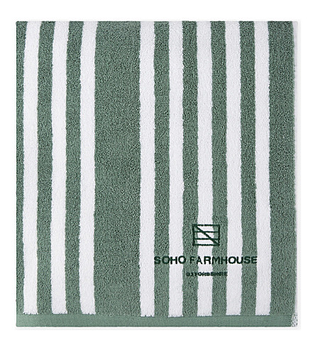 SOHO HOME Soho Farmhouse cotton pool towel 180x99cm (Farmhouse