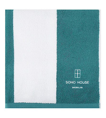 SOHO HOME Berlin House cotton pool towel 180x90cm (Berlin