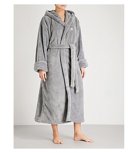 SOHO HOME House fleece robe (Grey