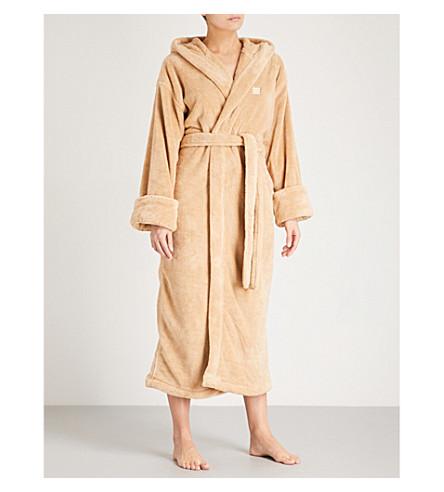 SOHO HOME House fleece robe (Beige