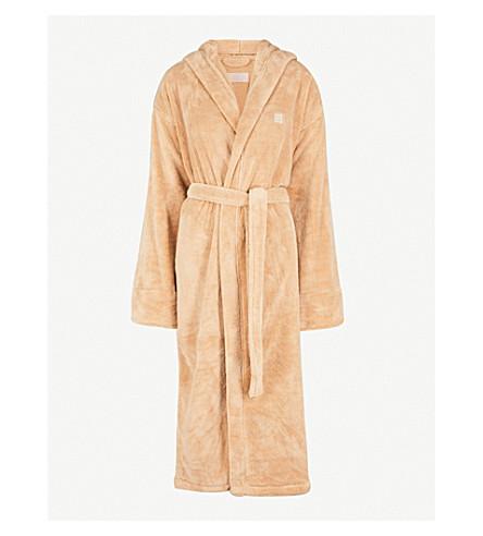 SOHO HOME House fleece dressing gown (Beige