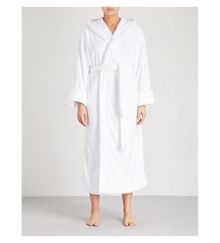 SOHO HOME House fleece robe White New Styles 0dqPbxl5