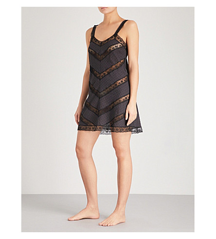MORPHO AND LUNA Venice cotton nightdress (Black