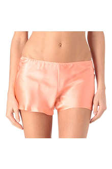 MARJOLAINE Silk shorts
