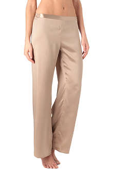 MARJOLAINE Silk trousers