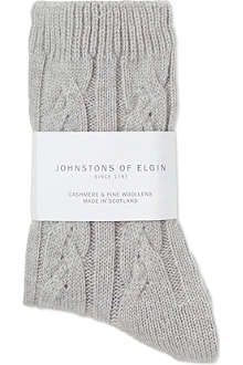 JOHNSTONS Cashmere bed socks