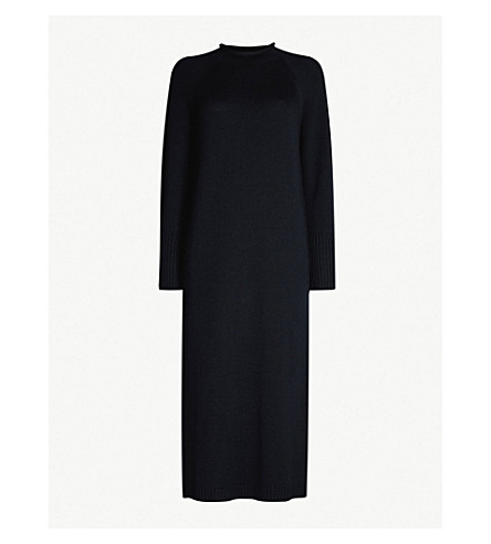 MAX MARA Vinicio wool dress (Navy