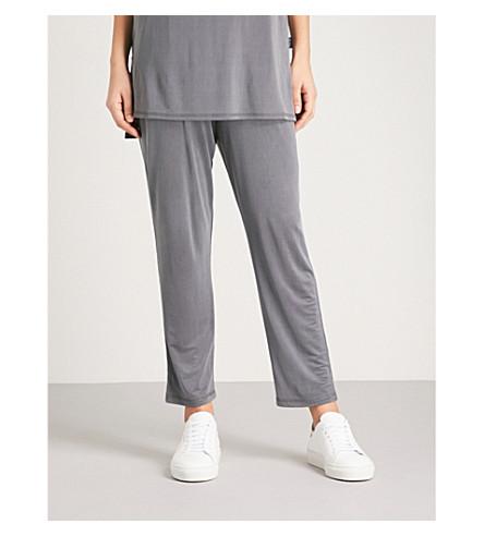 MAX MARA Dindi jersey jogging bottoms (004+dark+grey